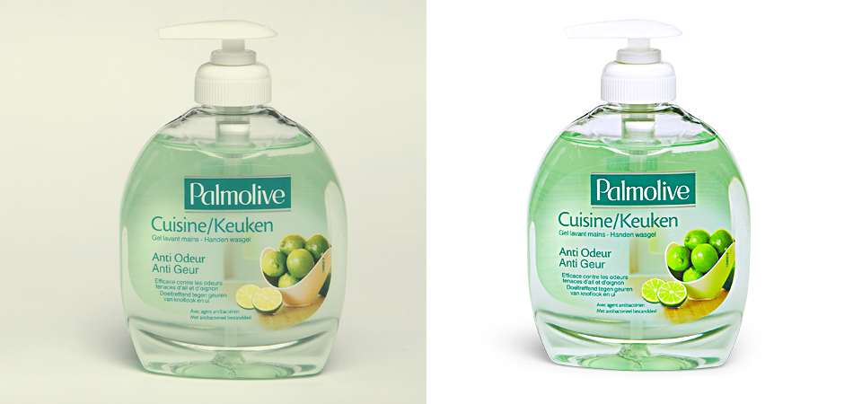 Product Color Correction